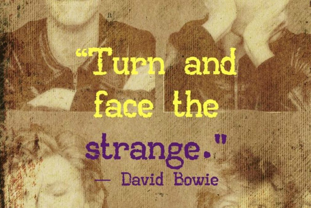 Turn And Face The Strange!